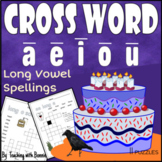 Cross Word Puzzles Grades1, 2 3