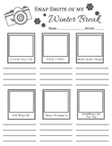 Year End and New Year Reflection Worksheet