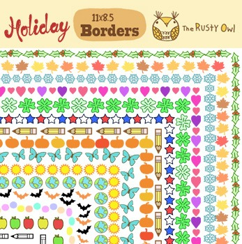 Year Themed Borders