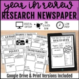 Year In Review Newspaper Research Project