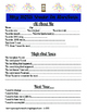 Year In Review - Printable Sheets