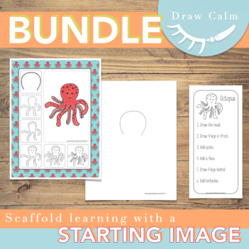 Directed Drawings for the entire year (100 drawings) Bundle