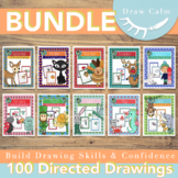Directed Drawings for the entire year (100 drawings) Bundl