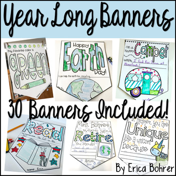 Year Long Banners: A Growing Bundle