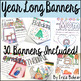Year Long Banners: 30 Banner Bundle