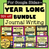 Year Long Bundle Daily Journal Writing Prompts Upper Eleme