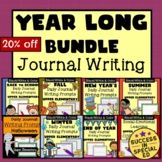 Year Long Bundle Daily Journal Writing Prompts for Upper E