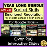 Year Long Bundle Social Skills Emotional Regulation for Go