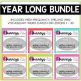 Year Long Bundle Vocabulary, Spelling and High Frequency W