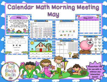 SMART Exchange - USA - 2010 Calendar Math for April - 3rd Grade