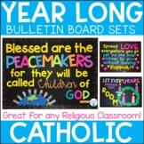 Year Long Catholic Bulletin Board Set Bundle
