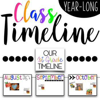 Year-Long Class Timeline