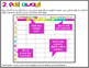Year Long Classroom Planning Curriculum Map EDITABLE Template
