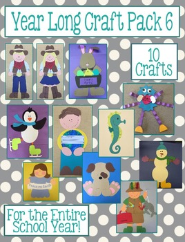 Year Long Craft Pack 6