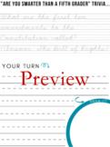 Year Long Cursive Bundle. 200 fun worksheets included.