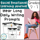 Year Long Daily Writing Prompts for Social Emotional Class