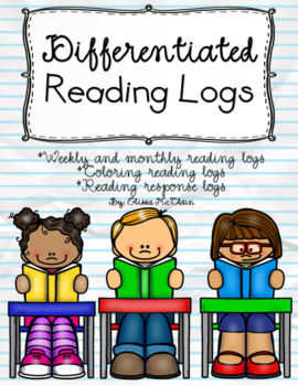 Yearlong Differentiated Reading Logs