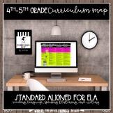 Year Long ELA Curriculum Map  (4th and 5th Grade)