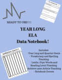 Year Long ELA Data Notebook for Students!