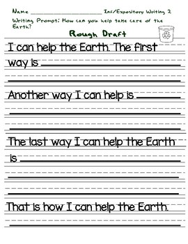 Year Long First Grade Common Core Writing Program 155 Pages!