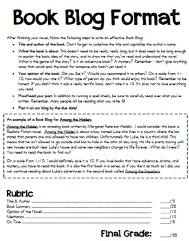 Year Long Genre Study: Independent Reading, Projects, Rubrics and more!
