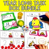 Year Long Bundle of Task Boxes for Special Education