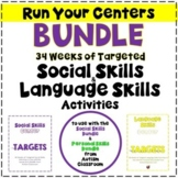 Year Long Guides/Plans to Running Centers for Social Skill