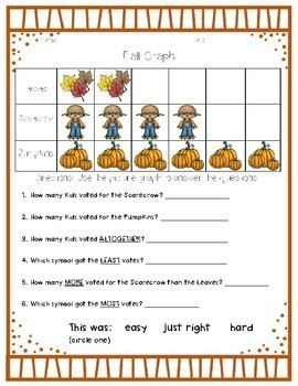 Year Long Holiday Picture Graph Packet