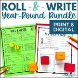Year-Long Holiday Writing Activities Growing Bundle