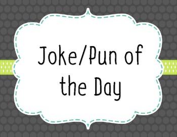 Year Long Joke/Pun of the Day