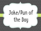 Year Long Joke/Pun of theDay