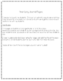 Year Long Journal Pages