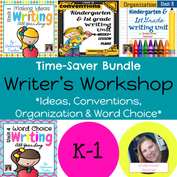 Writing Writer's Workshop: All Year Long Growing Bundle {CC Aligned}