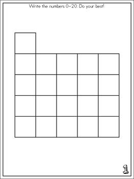 Year Long Kindergarten Math Journal