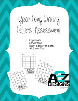 Year Long Letter Writing Assessment
