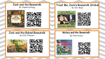 Year Long Listening Centers (With QR Codes) 334 Books