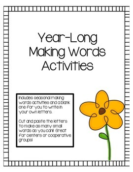Year-Long Making Words