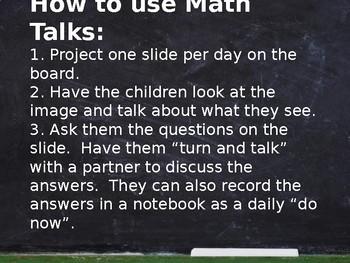 Year Long Math Talks