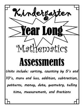 Year Long Mathematics Assessment