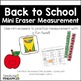 Year-Long Measurement Growing Bundle... with mini erasers!
