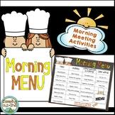 Year Long Morning Meeting Activities
