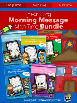 Year Long Morning Message Math Time