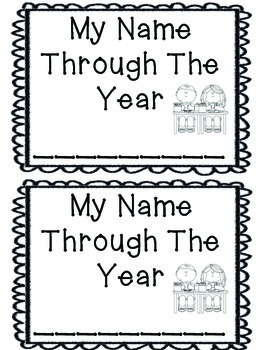 Year Long Name Journal