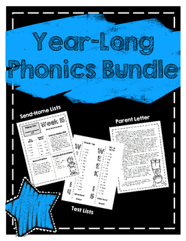 Year-Long Phonics BUNDLE!