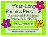 Year - Long Phonics Practice Packs