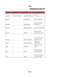 Year Long Plan in Excel