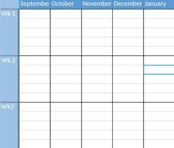 Year-Long Planner