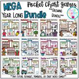 Year Long Pocket Chart Game Mega Bundle