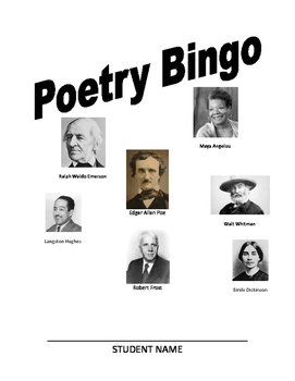 Year Long Poetry Review Bingo