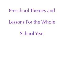Year Long Preschool Curriculum